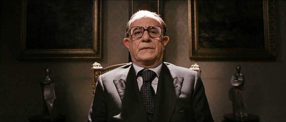 Toni Servillo as the enigmatic Giulio Andreotti in Il Divo