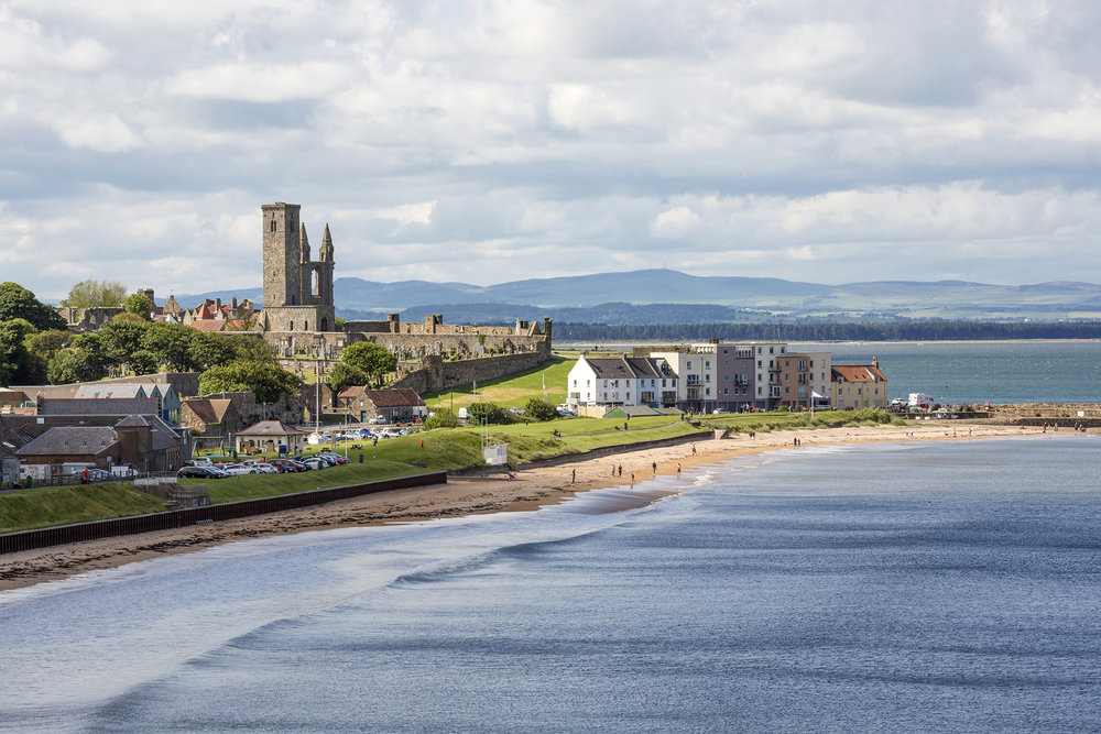 St Andrews - home of the Morris family and Scotland's golfing heritage