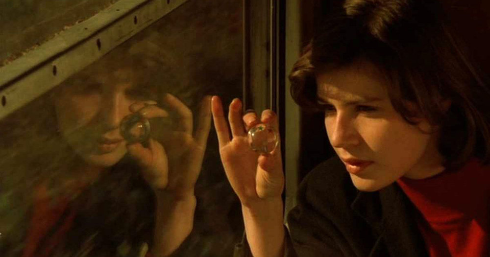 Irene Jacob in Kieslowski's  The Double Life of Veronique