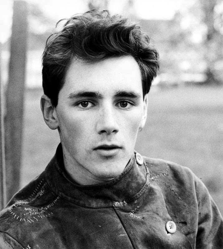 The young Mark Rylance in the RADA 1980 yearbook