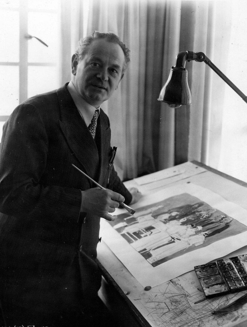 Art director Alfred Junge