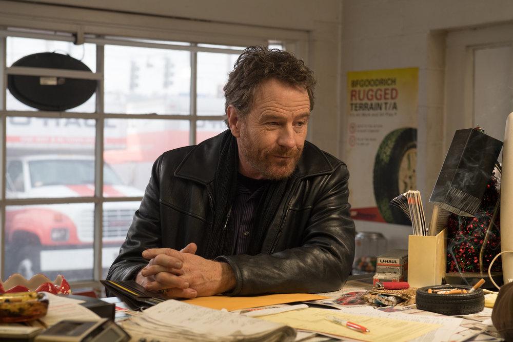 Bryan Cranston as Sal in Richard Linklater's  Last Flag Flying