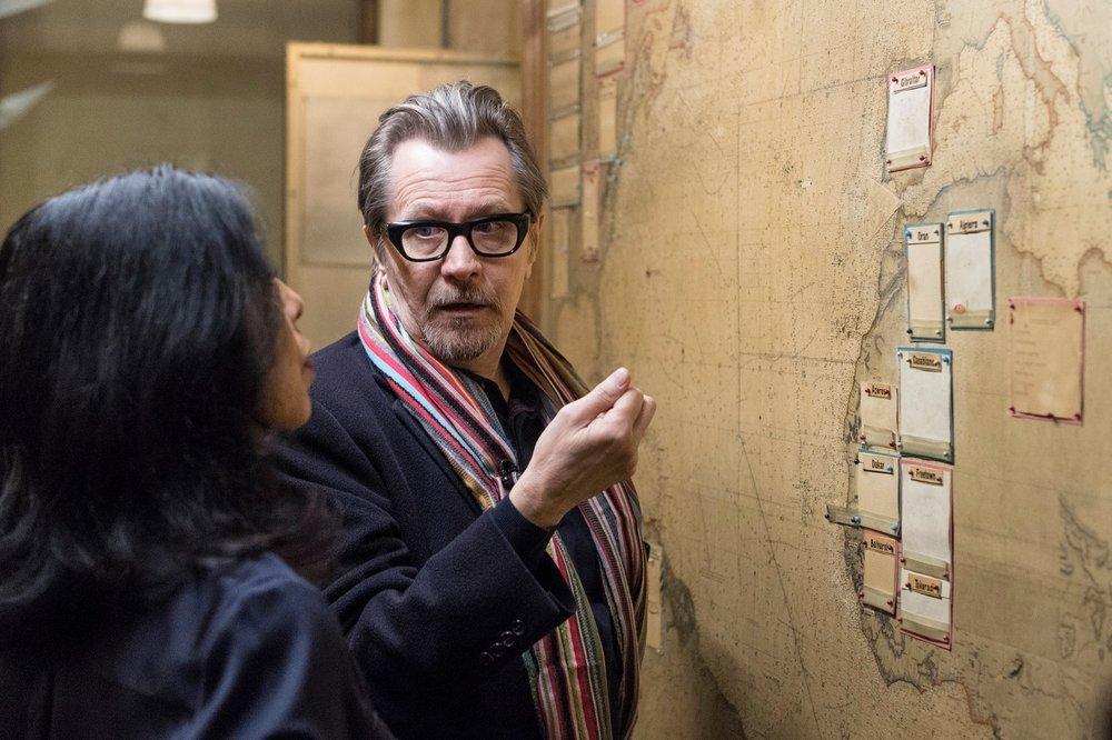 Gary Oldman at the IWM Churchill War Rooms