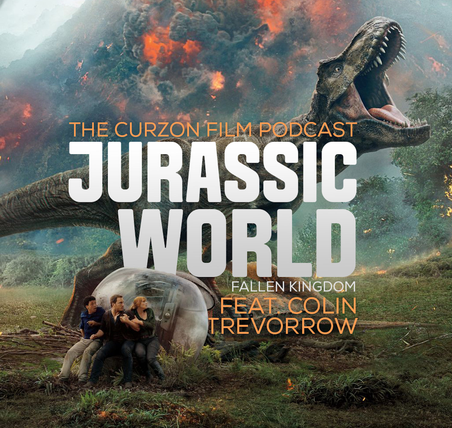 Jurassic World: Fallen Kingdom feat  Colin Treverrow | Curzon Film