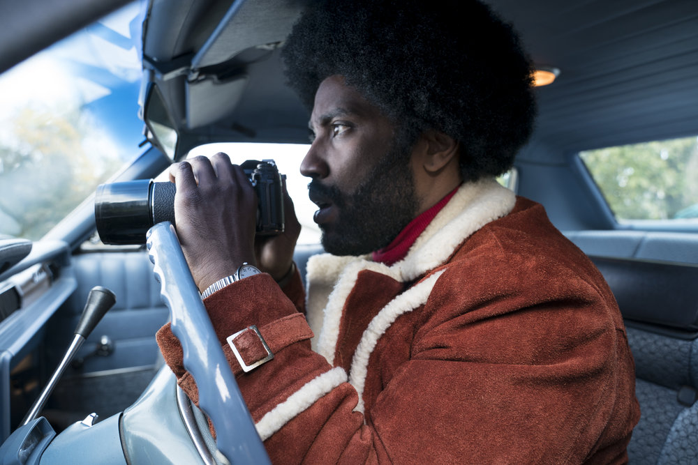 John David Washington in  BlacKkKlansman (2018)
