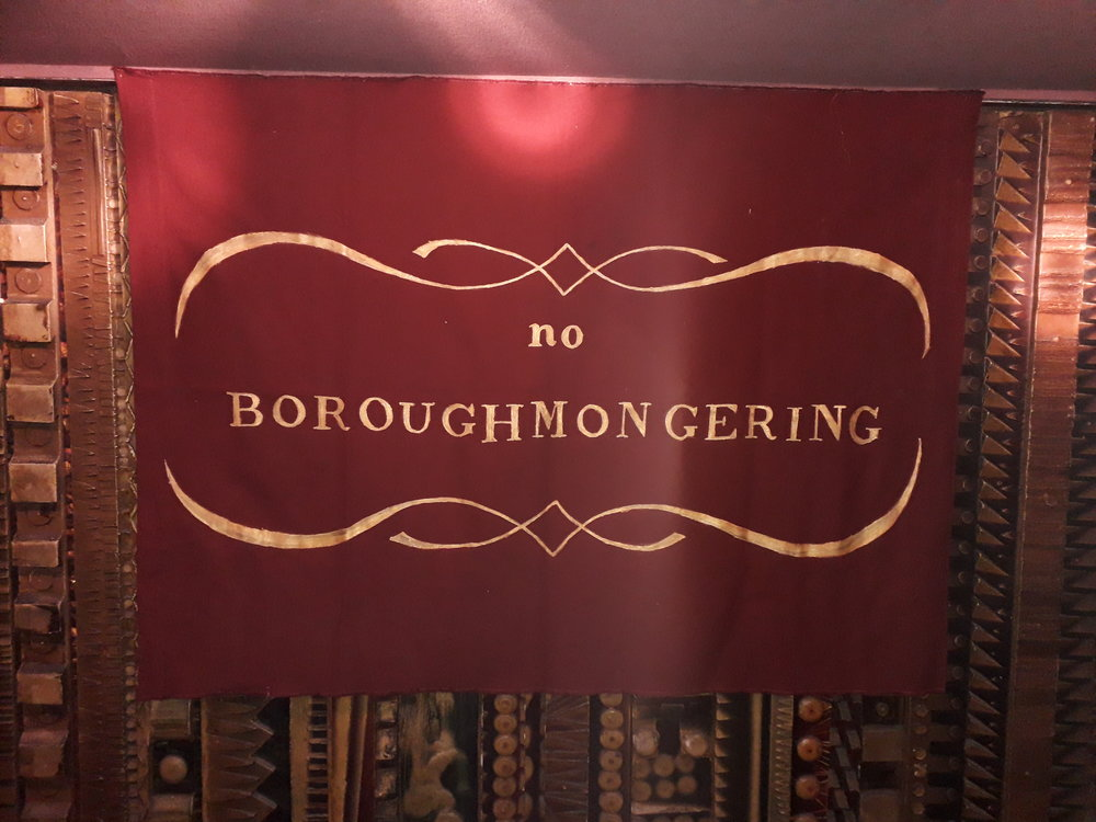 """No Boroughmongering"" on display at Curzon Mayfair"