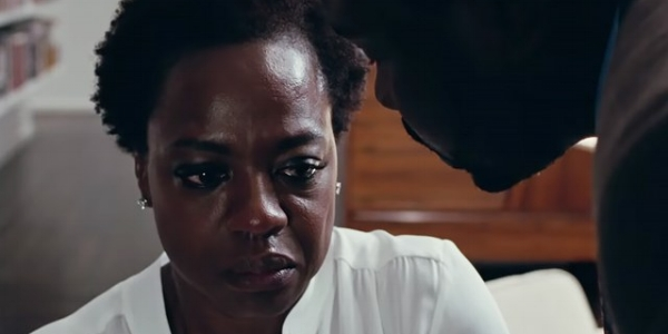 Viola Davis and Brian Tyree Henry in  Widows  (2018)