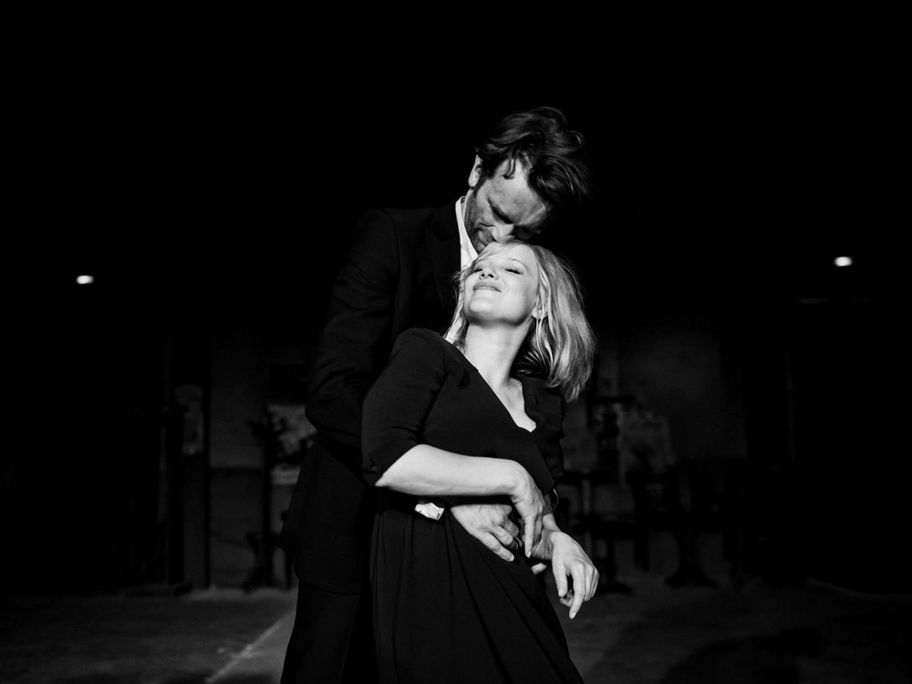 Joanna Kulig and Tomasz Kot in  Cold War