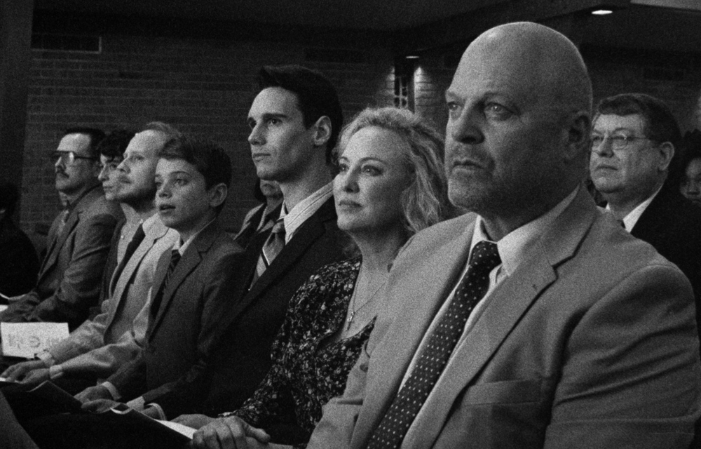 Aiden Langford, Cory Michael Smith, Virginia Madsen and Michael Chiklis in  1985  (2018)