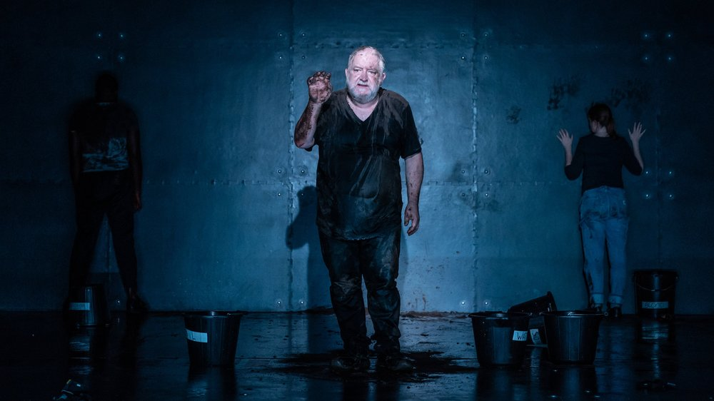 Simon Russell Beale in  The Tragedy of King Richard II
