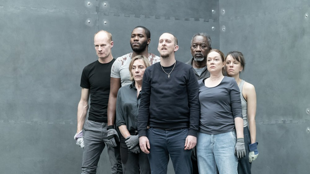 The cast of  The Tragedy of King Richard II