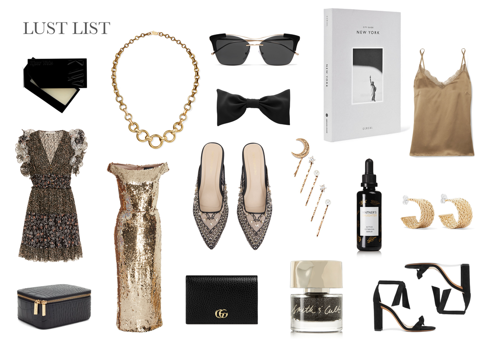 How to style gold and black