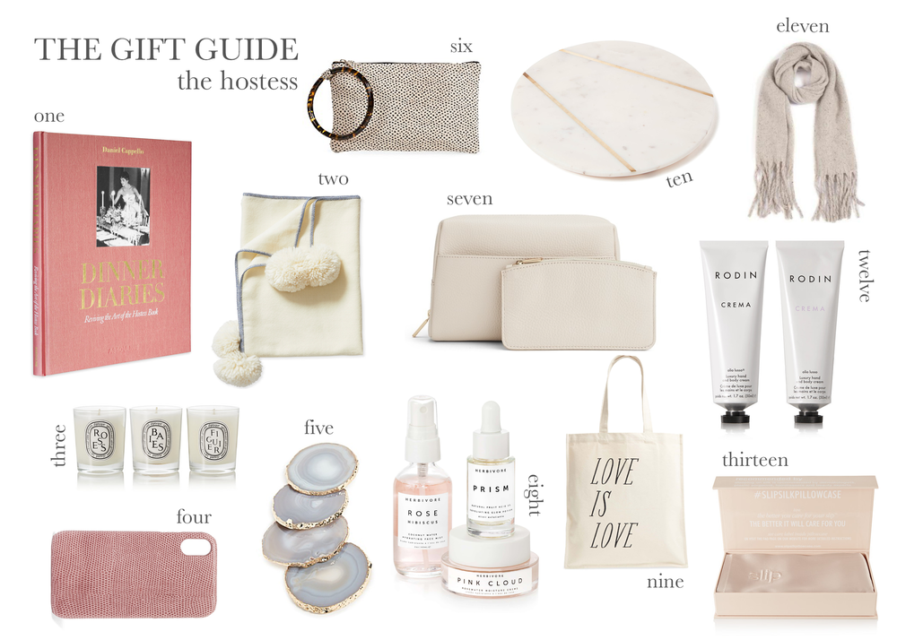 gifts for the holiday hostess