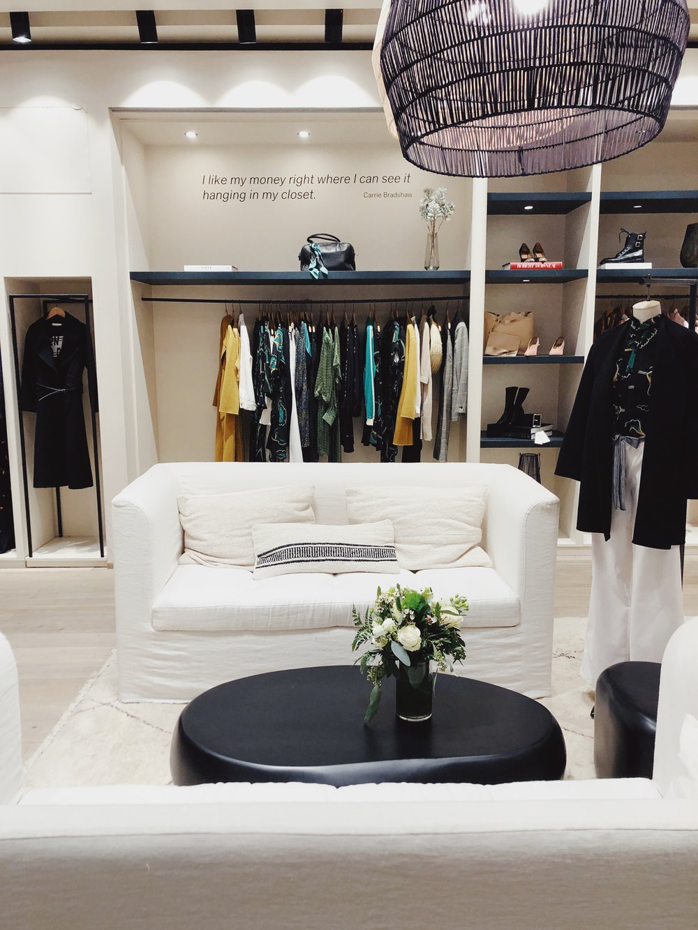 ba&sh - one of my favorite brands to shop in Belgium just opened a US flagship location in NYC