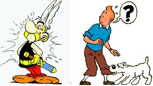 9 reasons asterix is the same as tintin everything asterix tintin vs asterix altavistaventures Images