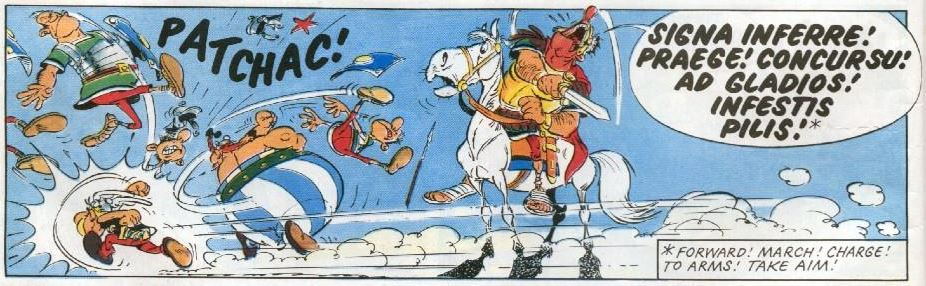 asterix and son latin jokes explained everything asterix