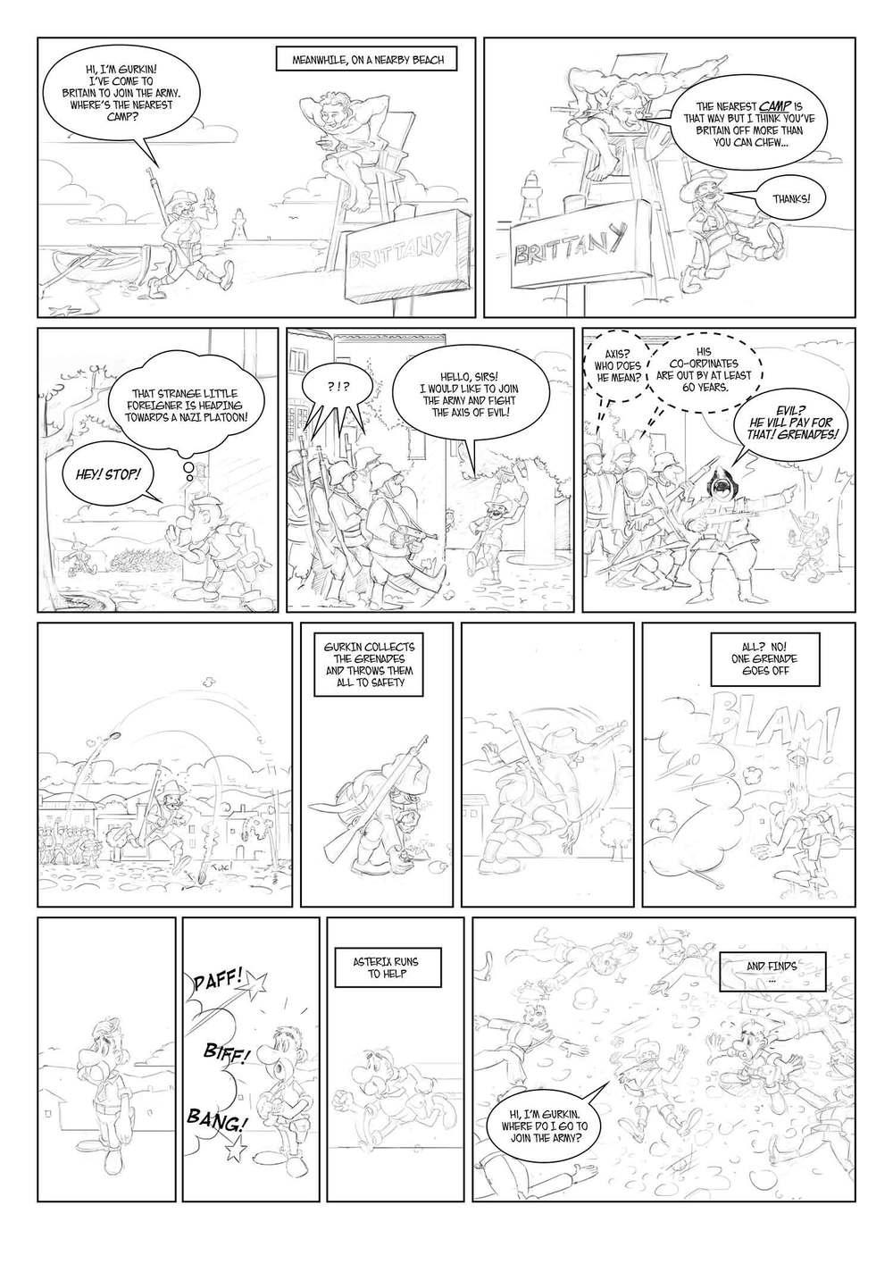 Asterix vs Hitler part 2