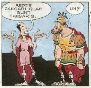 redde caesari quae sunt caesaris