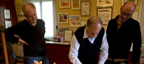 Jean-Yves Ferri and Didier Conrad
