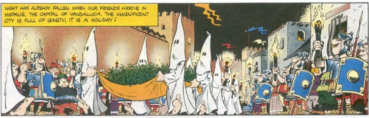 ku klux klan in asterix