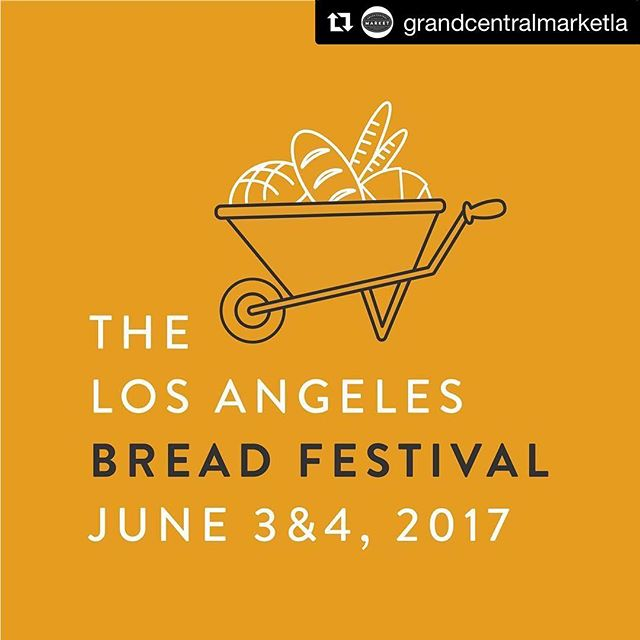 This weekend, LA!! The extremely popular Bread Fest at Grand Central Market! We will be there sampling the good stuff to put on the best bread you have ever tasted. All weekend / 9-6PM. Come early because everyone sells out fast! @grandcentralmarketla