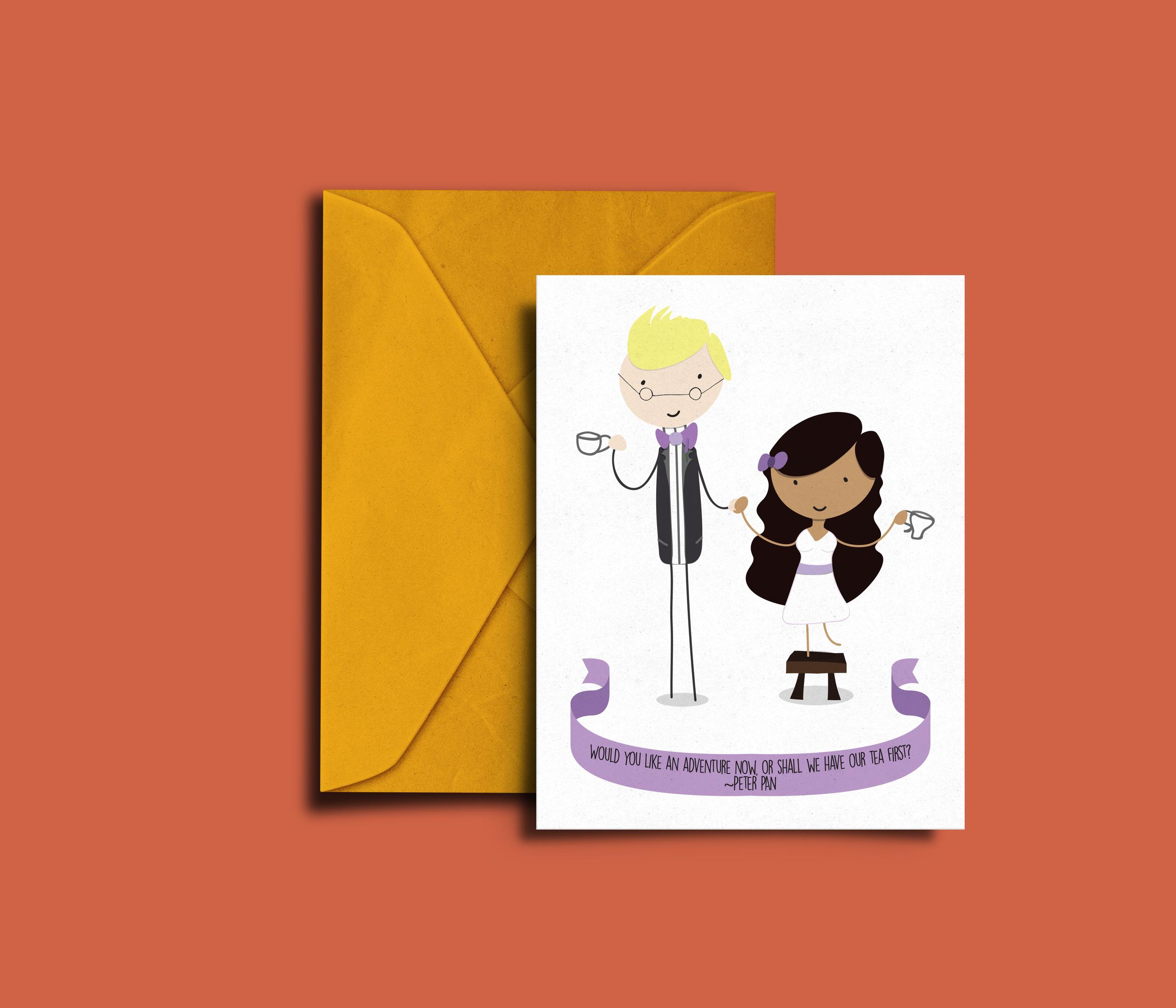 Wedding invitation — Oliver Carter