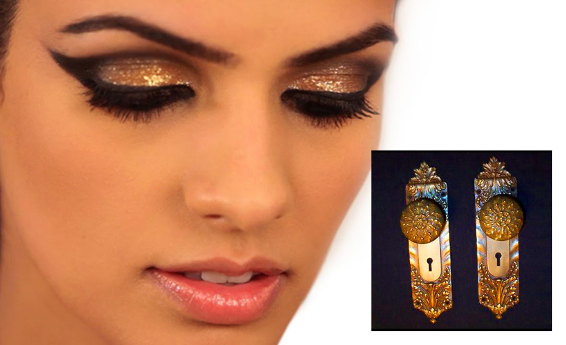 Metallic Eyeshadows That Make Your Eyes Look Like Little Doorknobs -