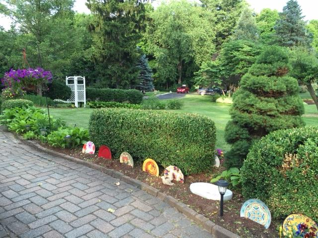 Each summer we have a garden walk to provide ideas for your home. This year it was held in Canton, Michigan.