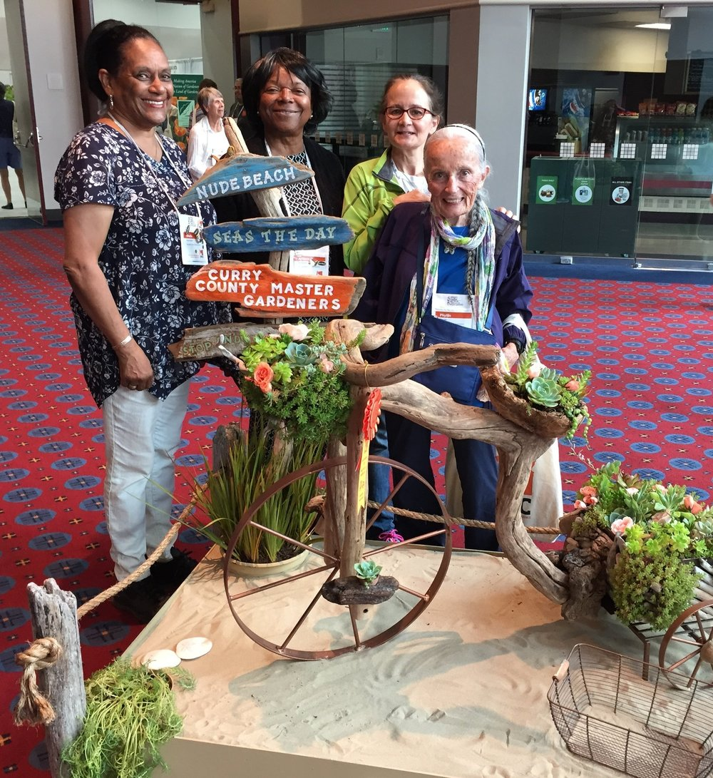 MGAWC members at the International Master Gardener Conference (IMGC) in Portland, Oregon. The next IMGC is in King of Prussia, Pennsylvania, outside of Philadelphia, in June 2019. More info at  internationalmastergardener.com .