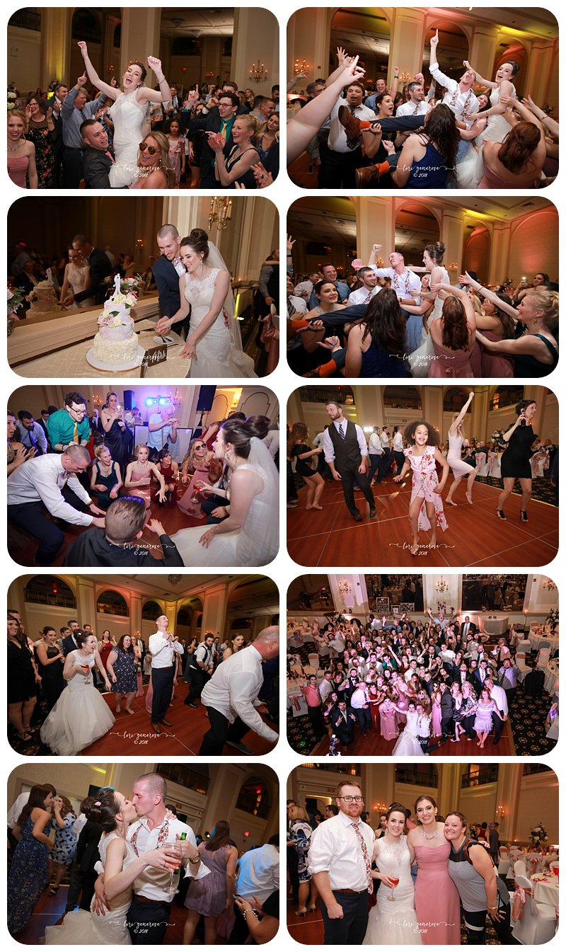 weddingreceptionathistorichotelbethlehempaweddingvenuecolonialdistrictdancingcakecutting.JPG