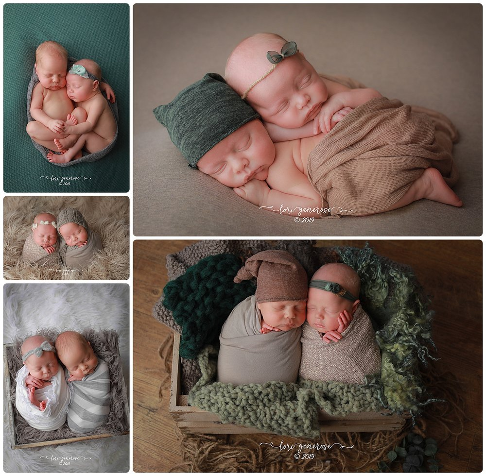 I was very excited to meet these guys... Everyone, this is Charlotte and Levi and they were perfect little angels for their newborn session and the cutest snuggle buddies 💕