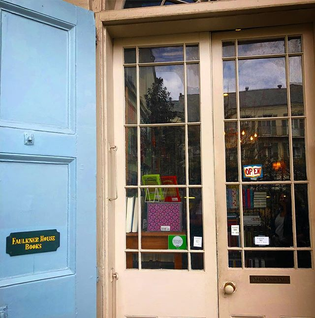 Go to New Orleans and make a stop at this beautiful and charming little bookshop.  #faulknerbookstore #neworleans #nola #books #travel #faulknerhousebooks
