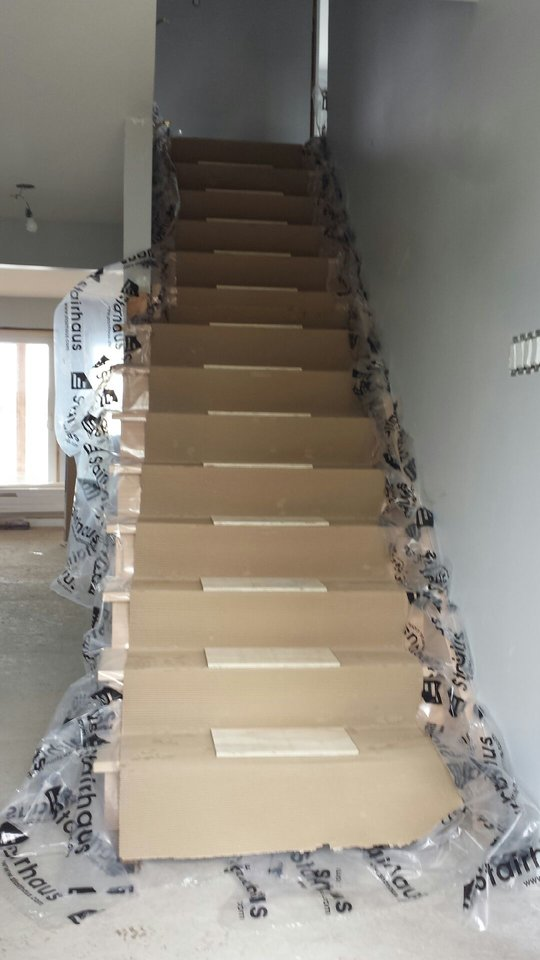 Stairhaus inc custom stair design and construction for Pre built staircase