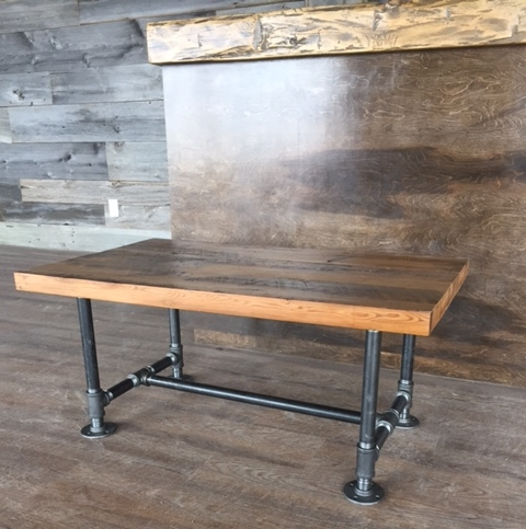 "Coffee Table SALE!  1-3/4""x 20"" x 48"" Reclaimed Hemlock Coffee Tables - with Clear-Coat  $550 + HST  Normal retail price: $650 + HST  We have enough of this brown hemlock for 8 tables. GO!"