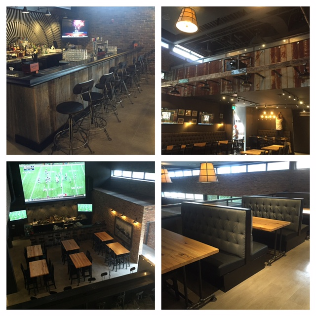 Check out the work we did in Barrie's newest sports bar - Hooligans. We supply & installed the barn board, reclaimed elm tables as well as supplied the beams, reclaimed steel roofing and custom fabricated steel.  #eatdrinkcheer   #hooligans   Job Location: Barrie, ON
