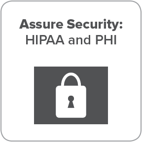HIPAA compliance and PHI safety