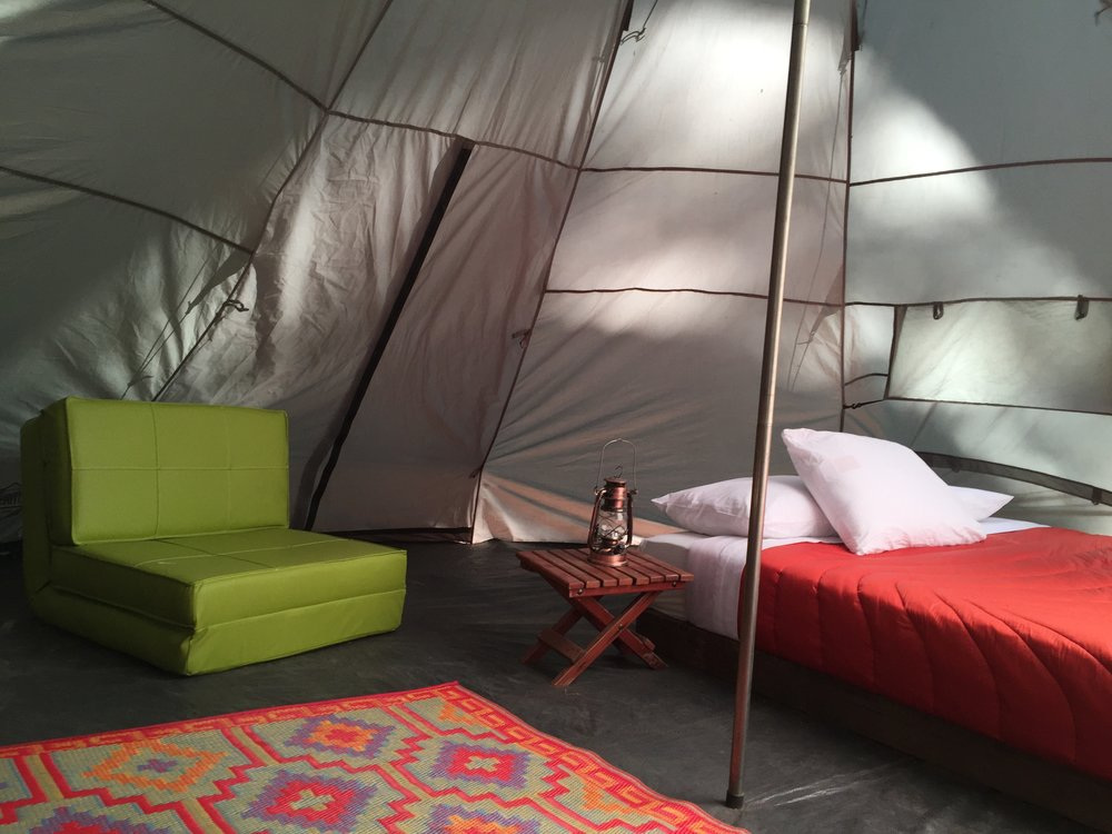 Furnished Deluxe Teepee