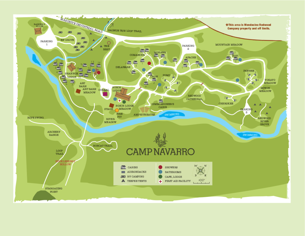Camp Navarro-Map-2018