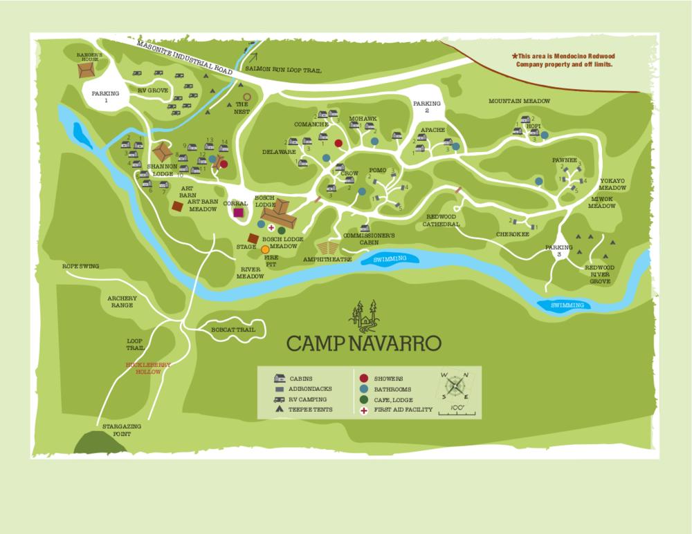 Camp Navarro-Map-2018