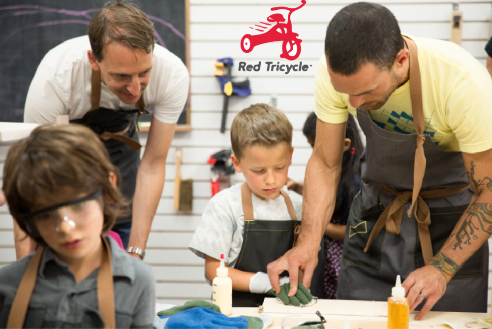Just Opened: The Butterfly Joint, A Woodworking Studio for Kids  (Red Tricycle, July 2015)