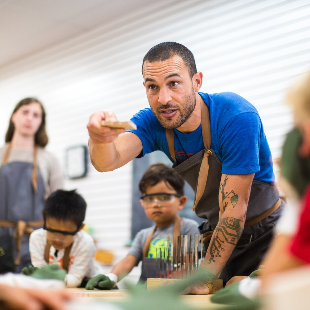 Lead by Danny Montoya, a credentialed early-childhood educator with more than a decade of experience in the classroom, The Butterfly Joint offers classes, workshops and activities that instill the importance of focus, problem-solving, resilience, determination and responsibility through the timeless art of woodworking.