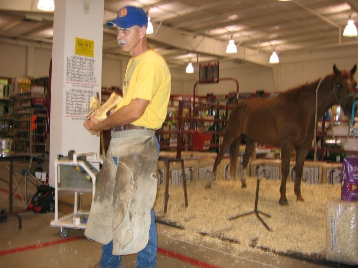 Sean McDonough, BWFA Master Farrier in Kansas