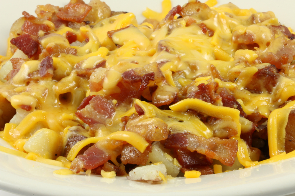 Cheddar Bacon Home Fries