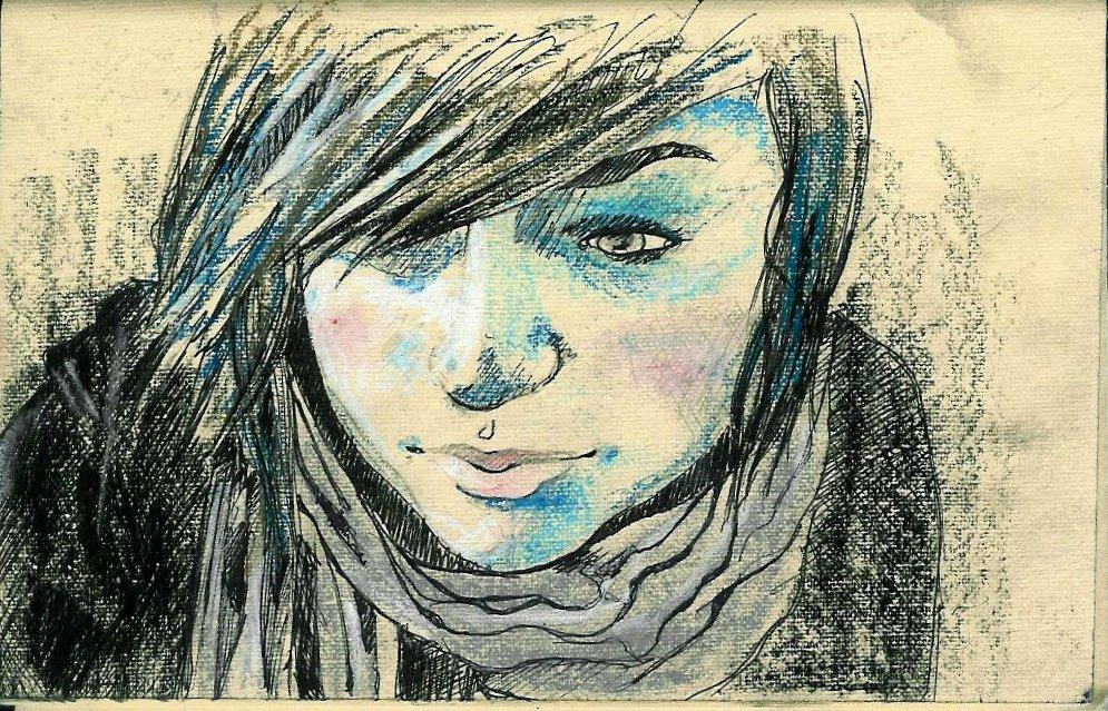 charcoal | pen | pastel