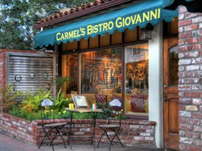 BISTRO GIOVANNA SAN CARLOS BETWEEN 5TH & 6TH (831) 626-6003 •  WEBSITE   When it comes to full-flavor California-Mediterranean cuisine, just one restaurant comes to mind: Bistro Giovanni, a signature Firok Shield restaurant with exceptional food, gorgeous murals adorning the walls.
