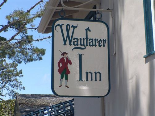 Wayfarer Inn  Mission & 4th (831) 624-2711 • (800) 533-2711 •  website   The Carmel Wayfarer Inn is a unique and charming inn centrally located in the village of Carmel with a short and enchanting 3-block walk to Ocean Avenue.