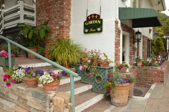 Casa De Carmel Inn  Monte Verde between Ocean & 7th (831) 624-6046 • (800) 328-7707 •  website   Casa de Carmel is ideal for romantic getaways, honeymoons, families with children, vacations with friends, personal retreats, and business travelers alike. Casa de Carmel offers comfortable lodging with premium beds...