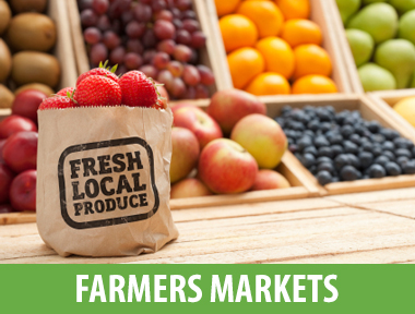 Local Farmer's Markets - Get your fruit on!