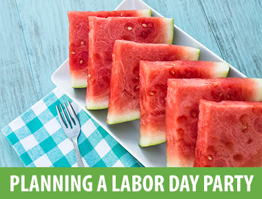 Plan a Labor Day Party - Labor Day weekend is the last big holiday of the summer and is a popular weekend for cookouts, weekend getaways and pool parties. To celebrate these last few days of summer, start planning a Labor Day party for your friends, family and neighbors. Follow these five easy tips for planning a Labor Day party and ensure your final summer bash is a hit.Tip 1: Send a Save the DateLabor Day is always a busy weekend that fills up with events quickly, so send out save the dates to your entire guest list 4-6 weeks before the party. This will ensure that your event will get on calendars before they accept invitations to other Labor Day events.Tip 2: Pick a ThemeLabor Day is about celebrating patriotism and having a theme can help highlight all things American. Make sure to include the theme in your invitations so that your guests will have time to put together a festive outfit. Here are some perfect Labor Day party theme ideas:Whiteout themed party: For those of you who are unaware of the Labor Day white rule, it goes like this: you're not supposed to wear white after Labor Day. Some people believe that this rule applies primarily to white shoes and others believe that all white items are a faux pas after Labor Day. A lot of people ignore the rule completely. Wherever you fall in the