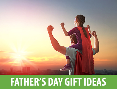 Dads, in a way, are simple creatures. Get him a Father's Day card: You've done your job. Get him a gift: You're a national hero. Add a craft from the kids: There might even be tears. Make it all look so easy by starting with one of these thoughtful finds.   Craftsman Heavy-Duty Drill Kit   Your go-to handyman will appreciate an equipment upgrade. This heavy-duty  Craftsman tool  earned high marks in our power drill test.   Philips Norelco Shaver   Up Dad's shaving game with this luxe model. It gives him the option of a dry or wet shave and has a  pop-up trimmer  for mustaches and sideburns.   The Tie Bar Tie Clips   This twist on the traditional Father's Day gift will have him looking dapper while keeping his tie in place. Three  clips  (black, navy, silver) will go with anything in his collection.   The 3-in-1 Shampoo, Conditioner & Body Wash   You may prefer having as many beauty products as possible, but Dad likes to keep his routine simple with this  3-in-1 shampoo, conditioner and body wash .   Beer Savers   Pop one of these  silicone caps  on and Dad's half-finished beer is saved until the next time he wants to unwind.   Succulents   It's the Father's Day equivalent of a bouquet of flowers:  tiny cactuses '!   Fitbit Versa   Fitbit's newest  watch  will motivate him to accomplish his fitness goals big and small. It even reminds him to get up from his desk every few hours, and go to bed on time.   Vineyard Vines Golf Clubs Silk Tie   We  know  that ties are a cliché gift, but the checkered golf club pattern on  this one  is so perfectly dad, we couldn't resist.   J. Crew Zip Sweater Jacket   The cotton-cashmere blend makes this  zip-up  feel super cozy without costing an arm and a second mortgage.   Jack Black Face Buff Energizing Scrub   Keep Dad looking fresh with this top-rated  face wash . Its exfoliants scrub away dirt and dead skin so he can get a super close shave.   AirPods   These  cordless headphones  pair with any Apple device for 5 hours of high-quality listening. Built-in microphones also drown out background noise when making calls.   Soapstone Cooking Press    Soapstone  naturally absorbs and holds heat, so he'll get those gourmet-looking grill marks on every homemade panini to come.
